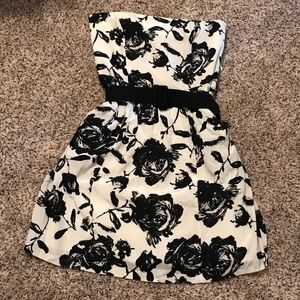 Ann Taylor LOFT Floral Belted Dress NWT